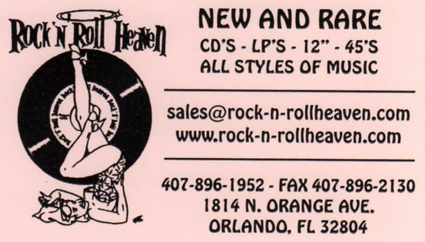 Rock 'n' Roll Heaven, Orlando, Florida